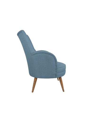 Ze10 Design Victoria Tekli Koltuk Gece Mavisi Mavi
